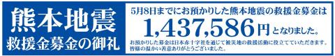 熊本地震お礼